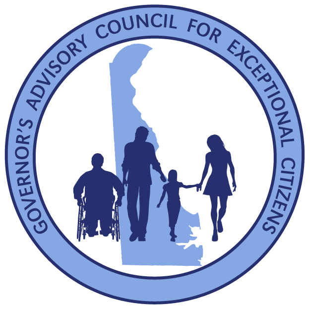 Image of the Governors Advisory Council for Exceptional Citizens logo