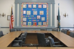 Photo of 2011 DHAM Bulletin Board at DOE