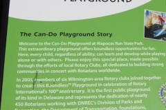 Photo of the Can-Do Playground Description display