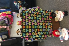 Photo of Blankets, Dolls and Other Items at the 2017 Heart 2 Heart Hugs