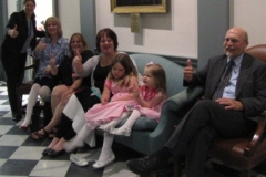 Photo of People Sitting - Restraints and Seclusion Bill Signing, 2012